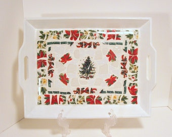 Mosaic Christmas Tray