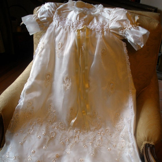 Katherine Christening Gown, Undergarment and Bonnet - 25% off Holiday Sale