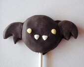6 Blair Bat chocolate lollipops