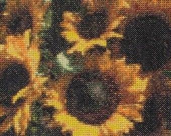 07002 Sunsational Sunflowers -  Original Design Cross Stitch PDF Pattern - DIGITAL DOWNLOAD