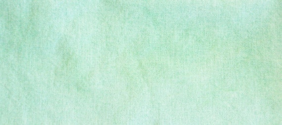 Light Nile Green Hand Dyed 28-count Evenweave Cross Stitch Fabric