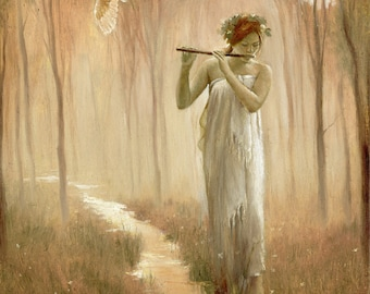 SINGING STREAM limited edition print from an oil painting