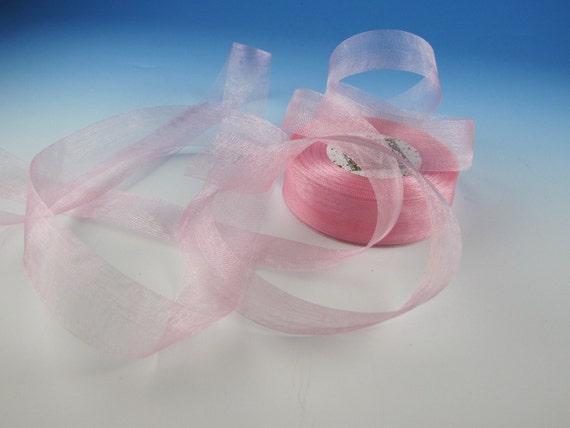 Ballet Pink5 Yard Length  Midori Organdy Ribbon.