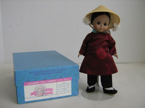 Vintage Madame Alexander Vietnam Doll 8 Inch