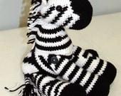Crochet Zebra: Custom order for asimpletwist