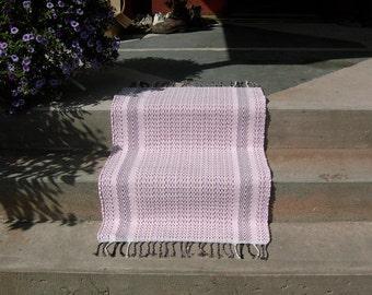 Rag Rug in Pink