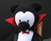Handmade Bear - Count Dracu-bear