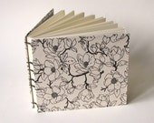 Large Guest Book, Magnolia on Natural