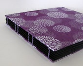 Mums on Violet Scrapbook Photo Album, Made to Order