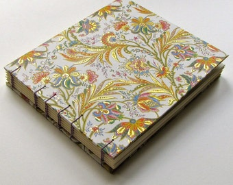 Large Florentine Print Arabella Guest Book, Made to Order