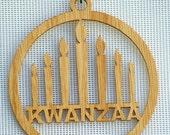 Kwanzaa Wooden Ornament / Window Hanger