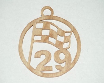 Kevin Harvick - 29  wooden ornament / window hanger