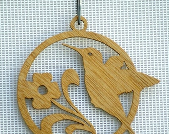 Hummingbird Ornament / Window Hanger