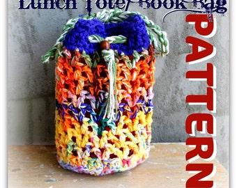 Lunch Sack/ Book Bag Pattern Tutorial