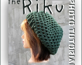 Photo Tutorial - The RIKU Rasta Slouch - Permission to Sell