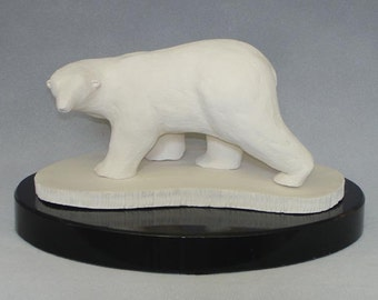 Polar Bear  original ceramic sculpture