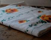 vintage cotton feedsack fabric