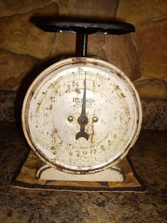 Vintage Shabby Kitchen Farm House Scale