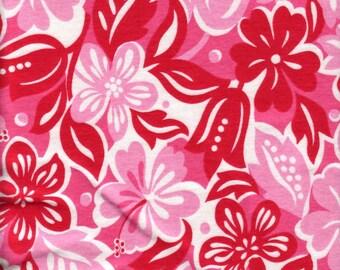 Cotton knit girls tropical summer fabric