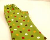 American Girl Doll Clothes - Boot Cut Polka Dot Twill Pants