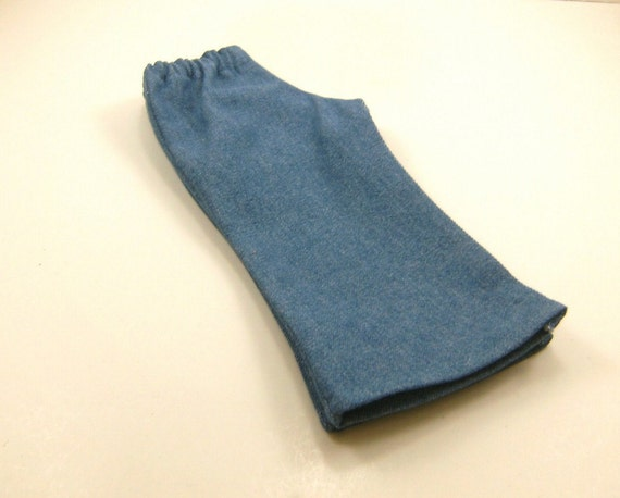 Fits American Girl Doll Light Blue Denim Boot Cut Pants 18 Inch Doll Sized Girls Toys