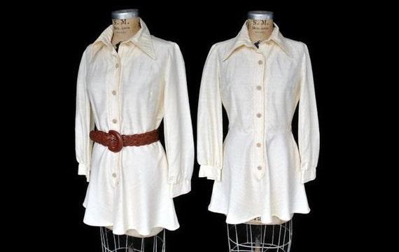 Mini Dress / 1970s Jonathan Logan dress / M-L