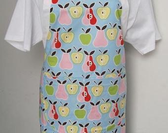 Bib Apron Apples and Pears Pastel