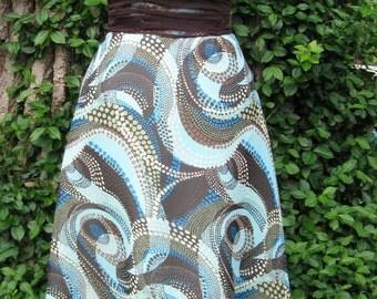 Strapless Dress Chiffon Overlay Convertible