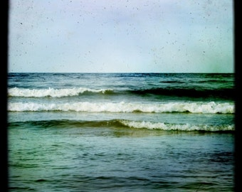 Waves, Fine art photograph, Ocean, Sea and sky, Waves, dramatic nature photograph