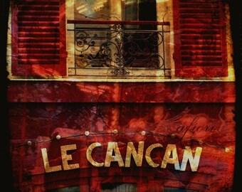 Le Cancan, Fine art photograph, The Abandoned Amusement Park