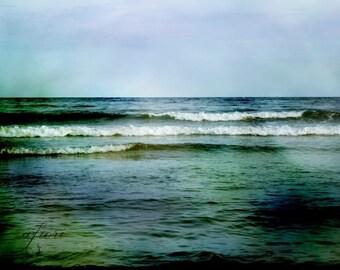 Deep Green Sea, Fine art photograph