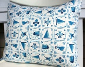 Dutch Tile Pillow Cover 12 x 16