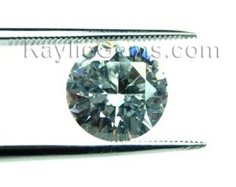 AAAAA Star Rated Quality 10mm Round Cubic Zirconia CZ Diamond Brilliant Cut - Diamond Clear - 2pcs