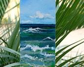 "Original Slice of the Beach custom order 4""X12"" on Etsy"