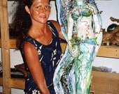 Mixed Media Mermaid (Samples for custom orders)