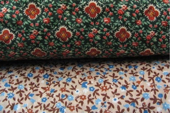 Double Sided Pre Quilted Fabric Beige With By