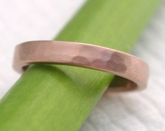 Simple Facets in Pink 4mm Band