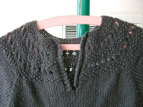 SALE Gray Wooly Sweater Dress Sz S-M