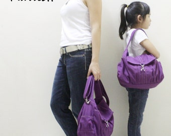 Halloween SALE - 20% OFF Mini Classic in Purple / Sling bag / Messenger / Crossbody Bags / Hobo / Purses / For Her / Women / Kids
