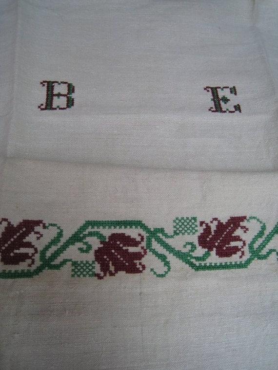 handloomed linen antique charming TOWEL napkin