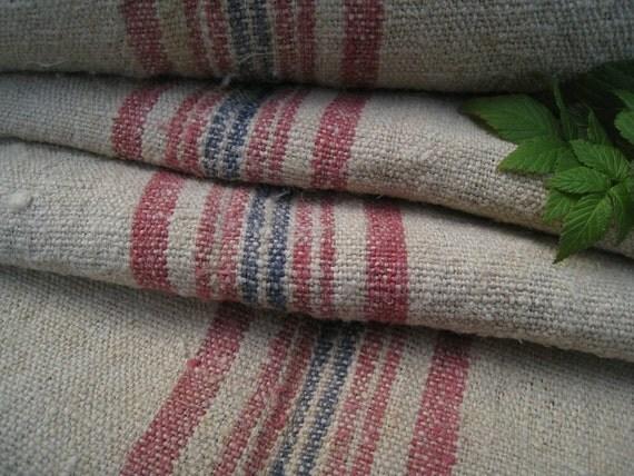 antique hemp linen roll WOW ROSA TAUPE 8.744y handloomed upholstery tablerunner