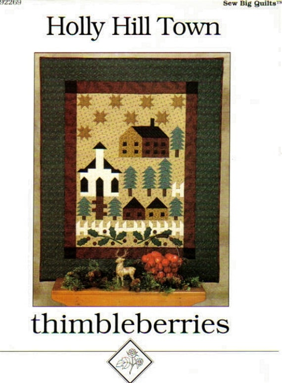 Holly Hill Town Quilt Pattern