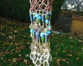 Crystal Recycled Wind Chime