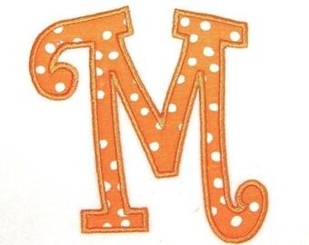 Machine Embroidery Curlz Applique Alphabet in 3 Sizes INSTANT DOWNLOAD