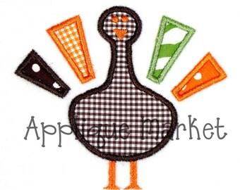 Machine Embroidery Design Applique Turkey INSTANT DOWNLOAD