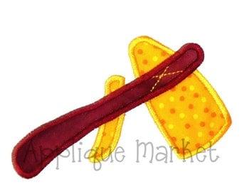 Machine Embroidery Design Applique Tomahawk INSTANT DOWNLOAD
