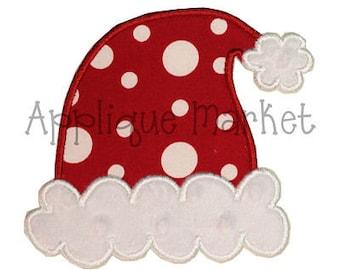 Machine Embroidery Design Santa Hat INSTANT DOWNLOAD