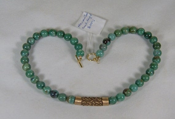 Celitc Necklace Sale african jade bronze handmade jewelery