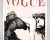 The Sofia Vogue 8in X 11in Art Print