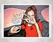 Sophie Ward Taxi 13 X 19 Prints